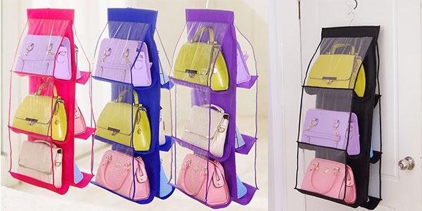 Organizador de bolsos Wu Fang para armario rebajado