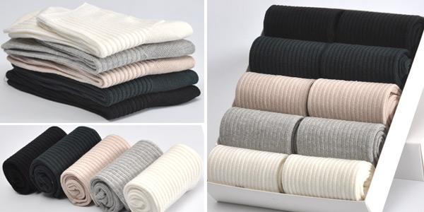 Pack 10 pares de calcetines de algodón Bendu para mujer chollo en AliExpress