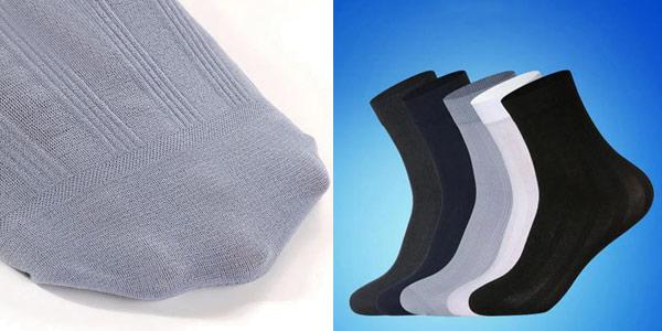 Pack de 10 pares de calcetines de algodón chollo en Banggood