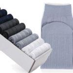 Pack de 10 pares de calcetines de algodón baratos en BangGood