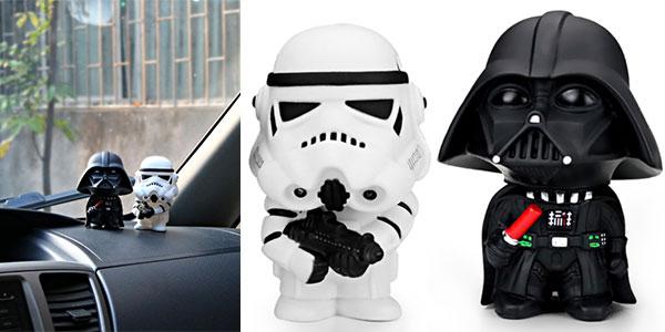Pack de 2 minifiguras de Star Wars para el coche barato