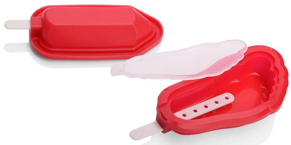 Pack 4 moldes silicona para helados chollo en AliExpress