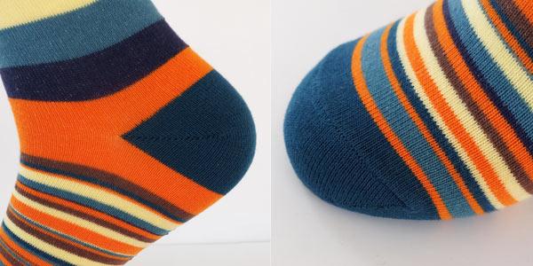 Pack 5 pares de calcetines para hombre a rayas multicolor en AliExpress