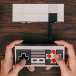 Pack mando 8Bitdo NES30 + receptor para NES Classic Mini
