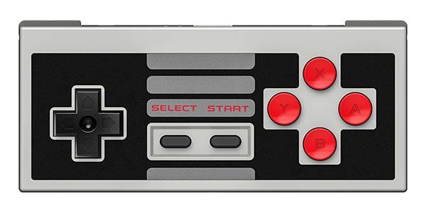 Pack mando 8Bitdo NES30 + receptor para NES Classic Mini en Amazon