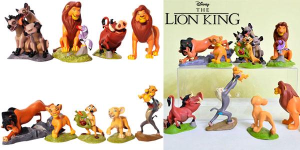 Pack de 9 figuras de El Rey León barato