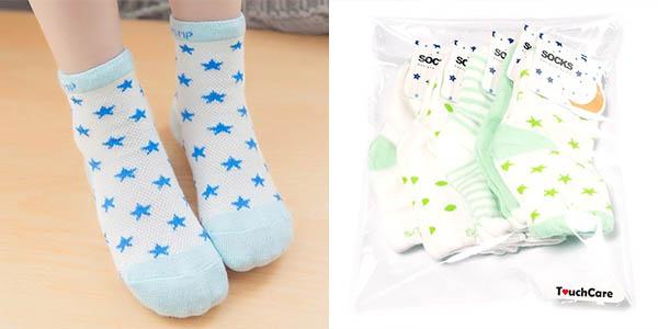 Pack 5 pares de calcetines para niños 100% algodón