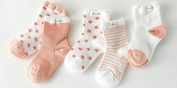 Pack calcetines de algodón para bebé