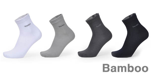 Pack calcetines de fibra de bambú