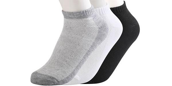 Pack 10 pares calcetines tobilleros