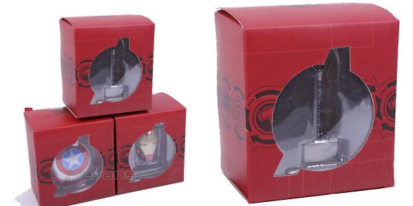 Pack escudo del Capitán América, Martillo de Thor y casco de Iron Man barato