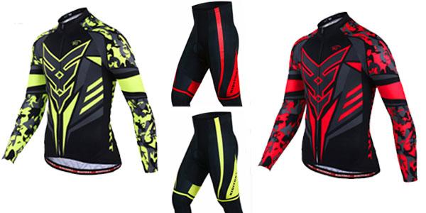 Pack pantalón y chaqueta de ciclismo para hombre al mejor precio