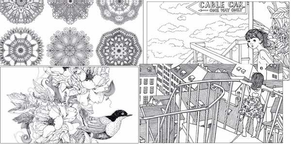 Pack de 4 libros de mandalas para pintar chollazo en AliExpress