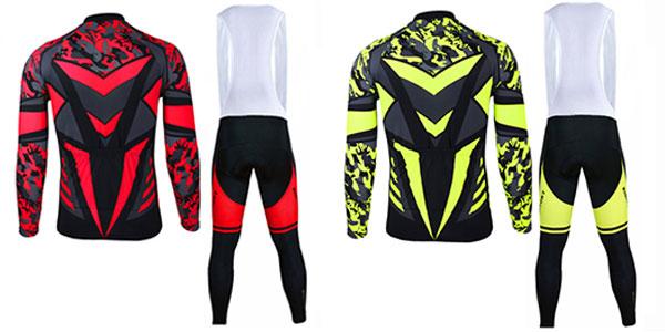 Pack de peto y chaqueta de ciclismo para hombre con descuento