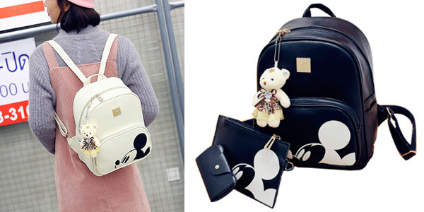 PackRusoonnic de bolso, cartera y tarjetero de Mickey en varios colores barato
