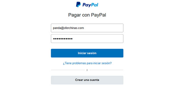 Pagar de forma segura con PayPal