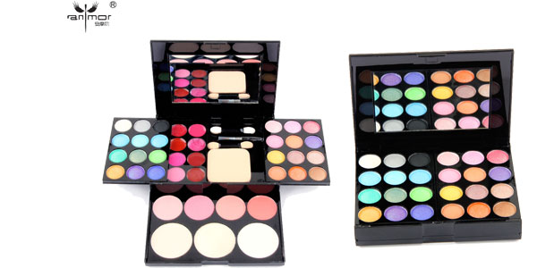Paleta de maquillaje Anmor Beauty con 39 colores