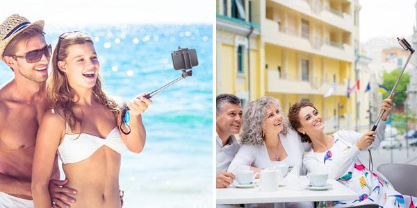 Palo Selfie BlitzWolf BW-BS6 con disparador Bluetooth chollo en BangGood