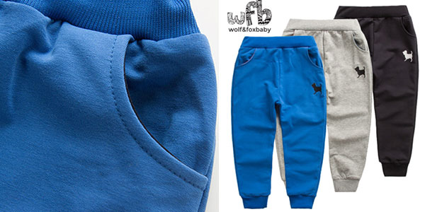 Pantalón de chándal infantil barato