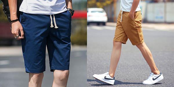 Pantalones cortos de algodón baratos