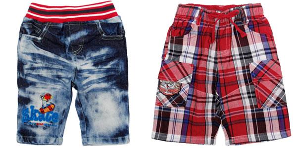 Pantalones corto Novatx para niño en varios modelos