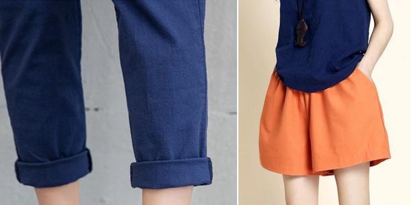 Pantalón tobillero para mujer chollazo en AliExpress