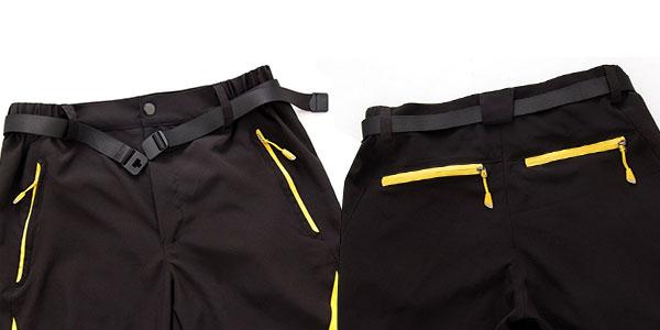 Pantalón senderismo trekking escalada pesca ciclismo Facecozy de hombre al mejor precio