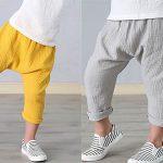 Pantalones de lino para niño
