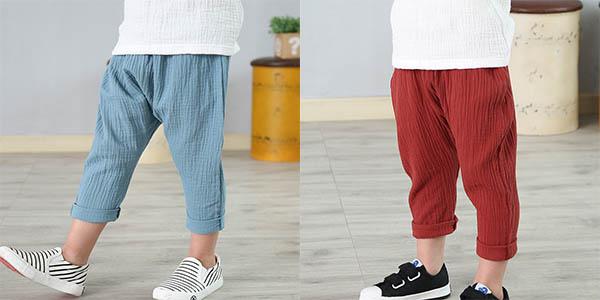 Pantalón de lino unisex en varios colores