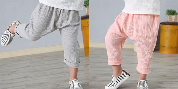 Pantalones de lino para niño baratos
