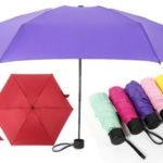 Mini paraguas plegable barato en AliExpress