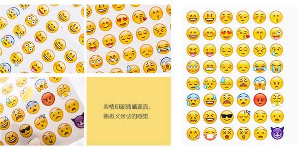 Pegatinas de emojis Lolede chollo en AliExpress