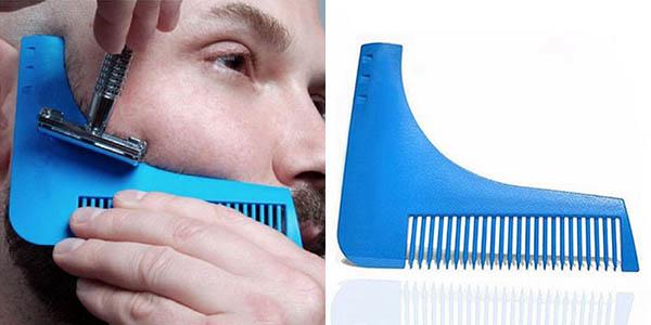 Peine perfilador para barba