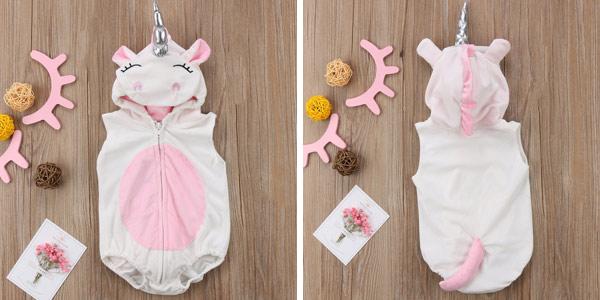 Traje unicornio para bebé chollazo en AliExpress