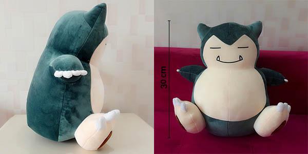 Peluche Pokémon Snorlax de 30 cm al mejor precio