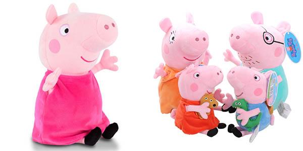 Peluches de Peppa Pig y amigos
