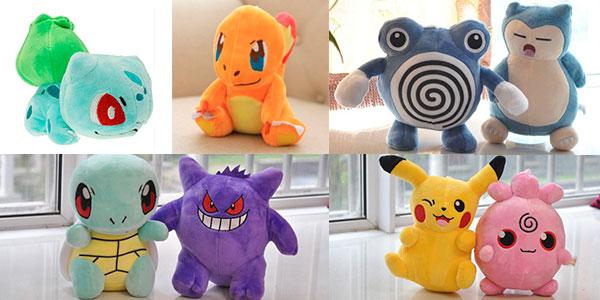Peluches de Pokémon de 20 cm en oferta