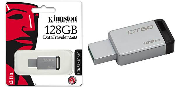 Memoria USB Kingston DT50 U de 128 GB USB 3.0