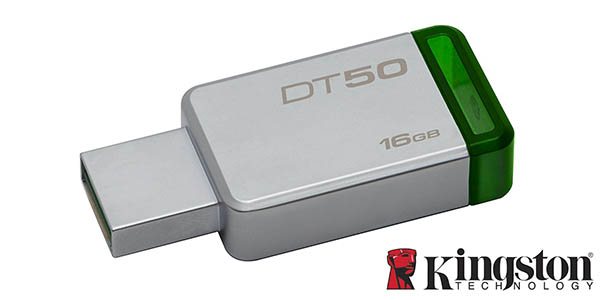 Memoria USB Kingston Technology DataTraveler 50 de 16GB