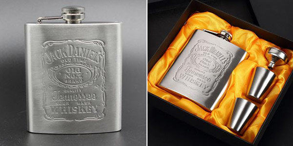 Petaca Jack Daniels barata en AliExpress