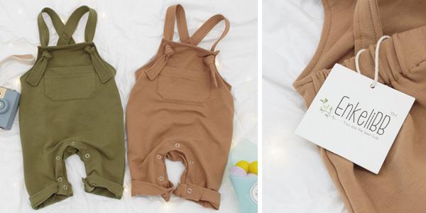 Petos con tirantes de algodón para bebé chollo en AliExpress