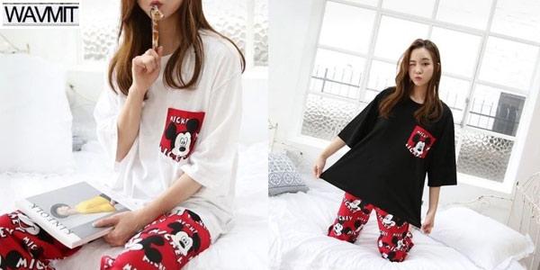 Pijama de Mickey para mujer barato en AliExpress