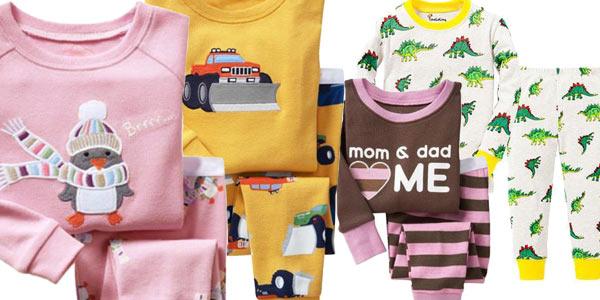 Pijamas infantiles chollo en AliExpress