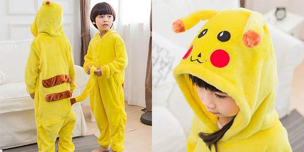 Pijama mono de Pikachu