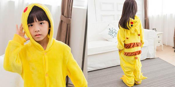 Pijama de Pikachu para niños