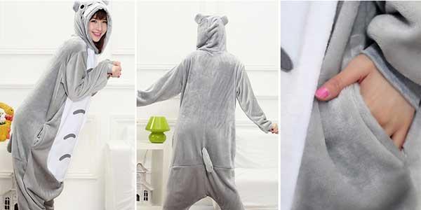 Pijama mono de Totoro HaiCospl chollo en AliExpress