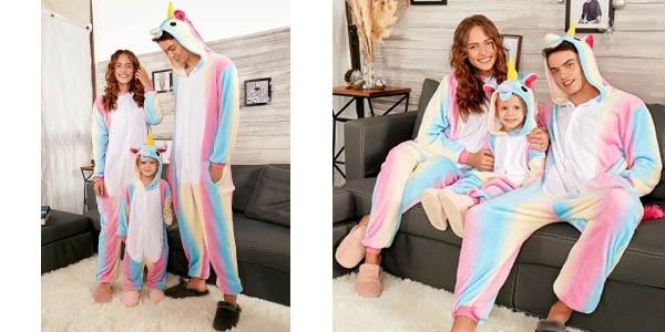 Pijamas de Unicornio para toda la familia en Rosegal