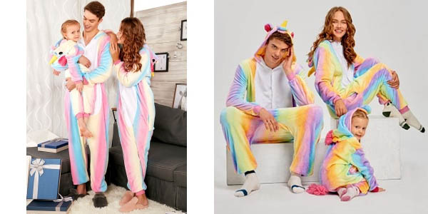 Pijama mono unicornio barato