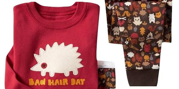 Pijamas infantiles de algodón con divertidos estampados chollo en AliExpress