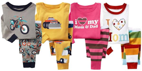 Pijamas infantiles de algodón con divertidos estampados baratos en AliExpress